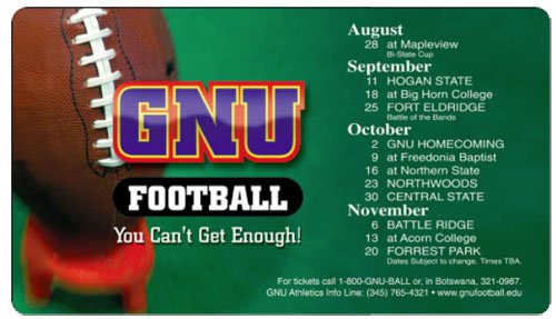 "Sports Schedule Magnets - 7"" x 4"" Round Corners"