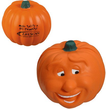 Smile Pumpkin Stress Balls