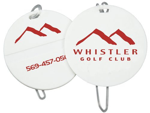 Econo Round Golf Bag Tags