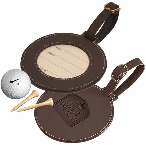 Leeman Woodbury Durahyde Golf Bag Tags