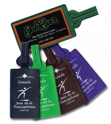 Vinyl Basics Luggage Tags