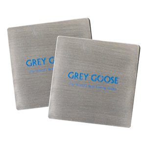 Stainless Steel Square Beverage Coasters
