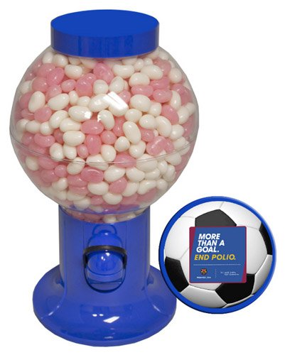 Corporate Colors Candy Dispensers