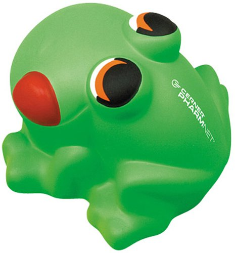 Cartoon Frog Stress Balls