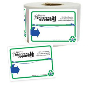 "Recycled 4"" x 5"" Roll Shipping Labels"