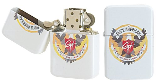 Flip Top Wick Lighters with Full Color Imprint