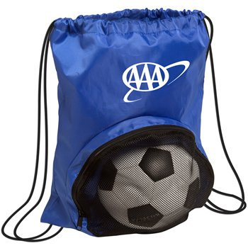 Sport Ball Nylon Drawstring Bags