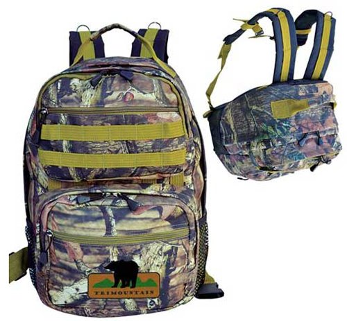 Mossy Oak Camo Ultimate Outdoor Backpacks