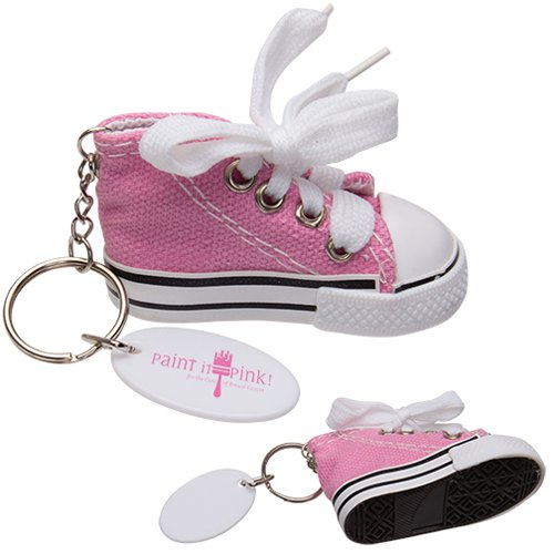 Pink Hi-Top Key Chains