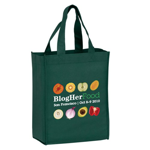 8 x 10 Full Color Non-Woven Book Tote Bags