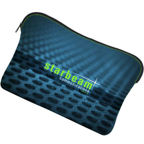 "13"" Kappotto Full Color Zippered Neoprene Laptop Sleeves"