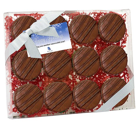 Chocolate Covered Oreo Gift Box - Chocolate Drizzle