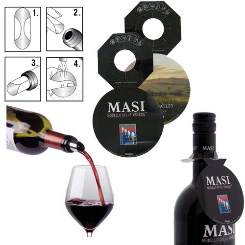 DropStop Wine Pourer with Necker