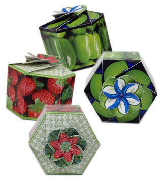 Garden Gems Paper Planters with Fruits & Vegetables