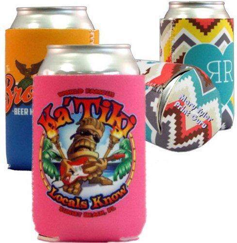 Full Color Neoprene Can Holders