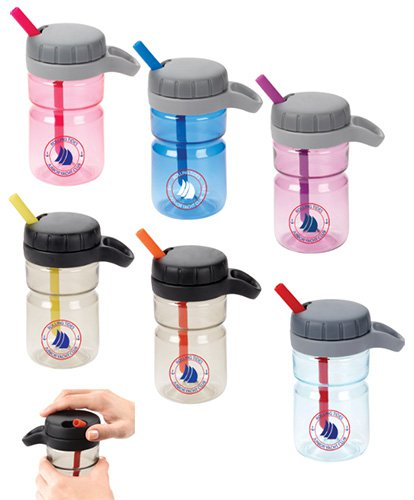 12 oz. OXO Twist Top Bottles with Straw
