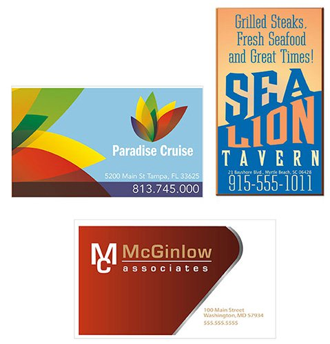 Value 20 Mil. Full Color Business Card Magnets