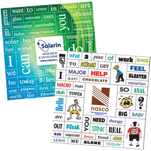 49 Word Themed Message Magnets