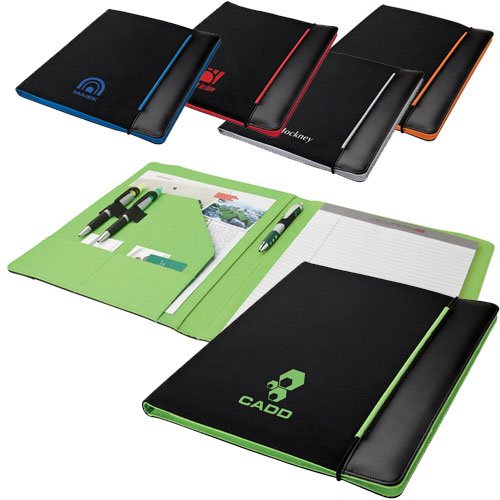 Padfolio with Colored Accents