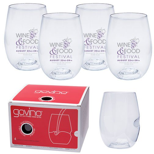 16 oz. Govino Wine Glass 4 Piece Sets