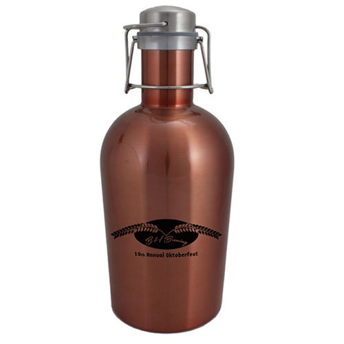 64 oz. Copper Stainless Steel Growler