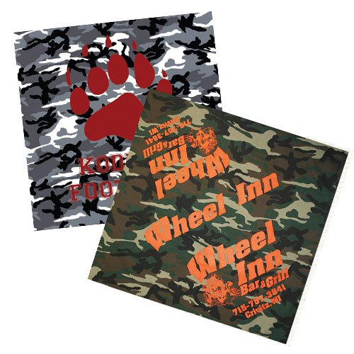 "22"" x 22"" Camo Rally Flags"