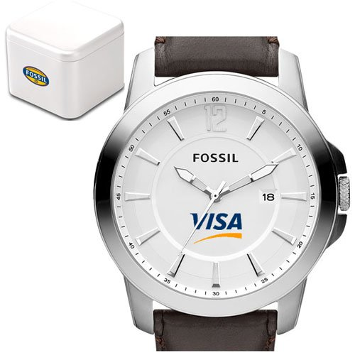 Fossil Men's Classic Leather Watch