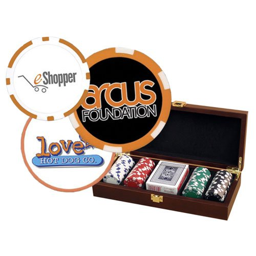 100 Full Color Chip Poker Sets