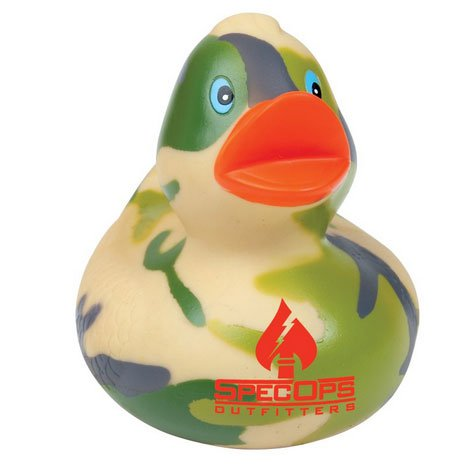 Camouflage Rubber Ducks