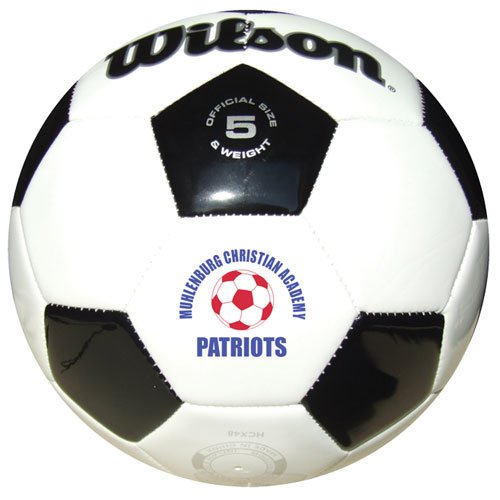 Soccer Ball - Official Size (Leather Synthetic) from Wilson