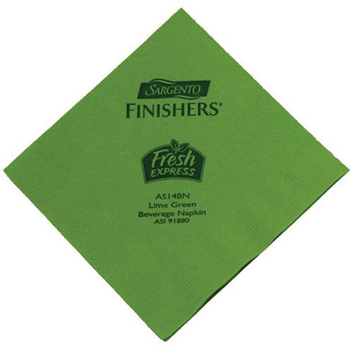 2-Ply Lime Cocktail Napkins