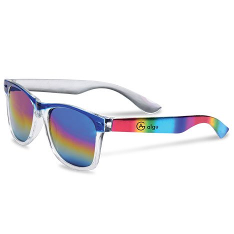 Rainbow Mirrored Sunglasses