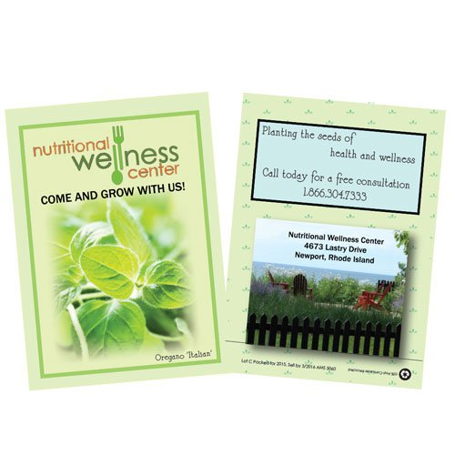 Custom Herb Seed Packets (Full Color Imprint)