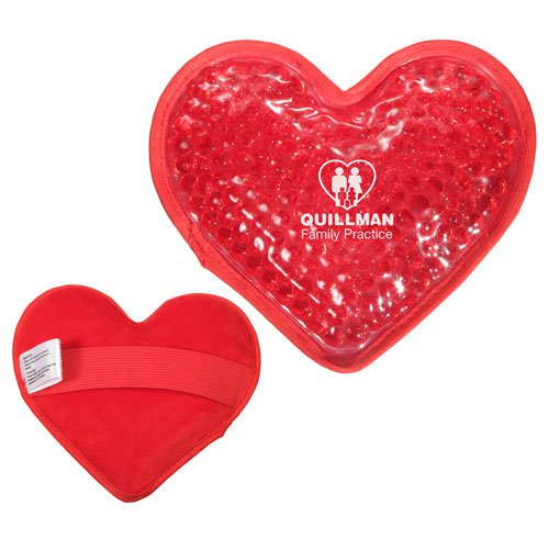 Plush Heart Hot / Cold Gel Packs