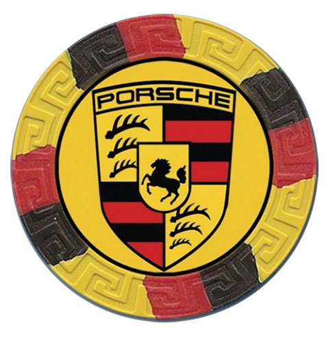 11.5 Gram ABS Composite Poker Chips - Tri-Color Design