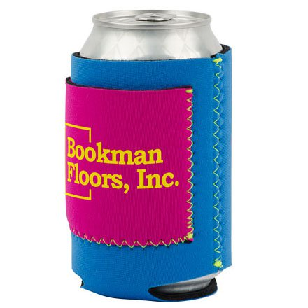 Neoprene Can Holders with Pocket