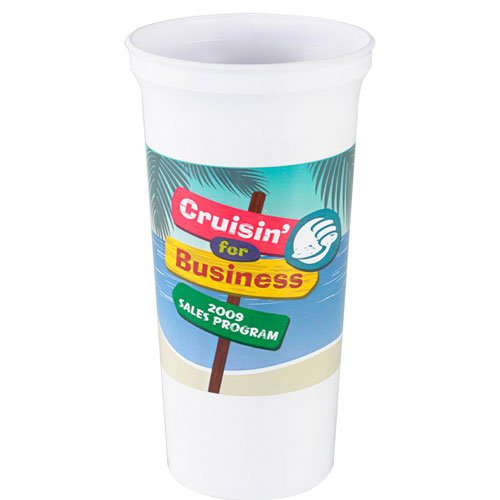 32 oz. Full Color Stadium Cups