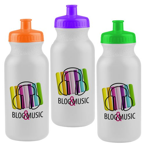20 oz. Full Color Bike Bottles