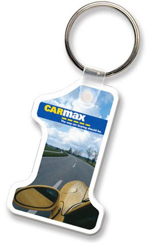 Econo Full Color Flexible Vinyl #1 Key Tag