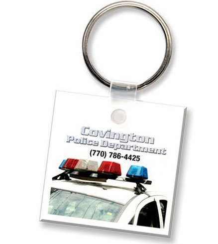 Econo Full Color Flexible Vinyl Square Key Tag