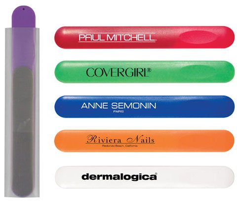 Nail File in Colored Sleeve
