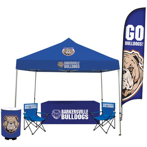 10' Event Tent Tailgater Total Show Package