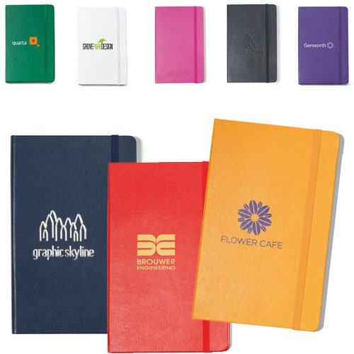 Moleskine Hardcover Large Notebooks - 5 x 8.25