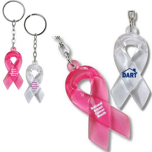 Translucent Ribbon Keytags