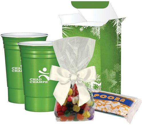 Party Cup Movie Night Gift Set