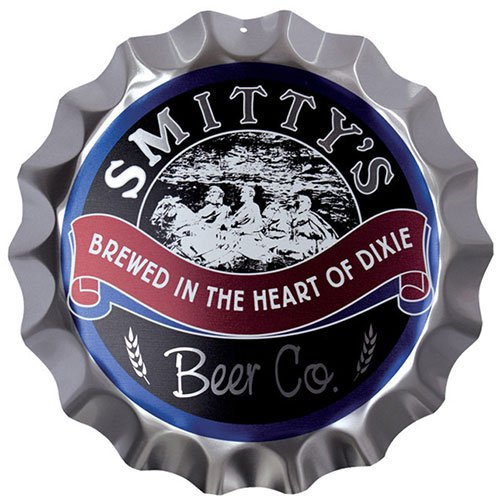 "14"" Full Color Aluminum Bottle Cap Sign"