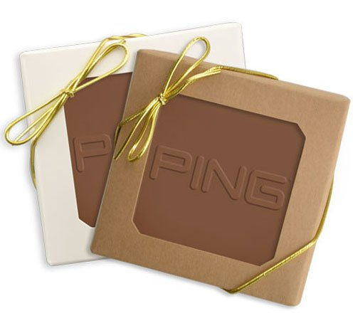 Custom Square Chocolate in Gift Box