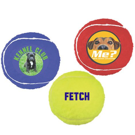 Full Color Tennis Ball Pet Toys