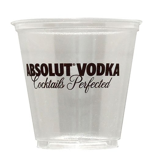 100 Custom 3.5 oz. Plastic Sampler Cups 190