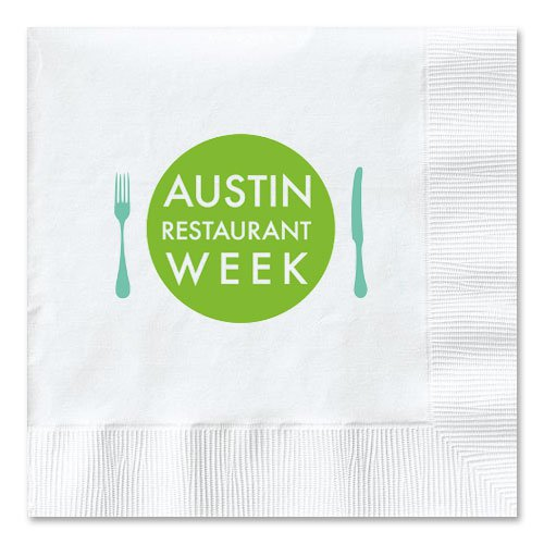 3-Ply White Cocktail Napkins